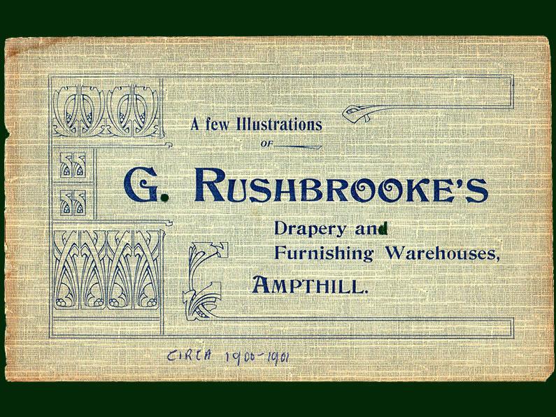 G Rushbrookes brochure - Ampthill Antiques Emporium