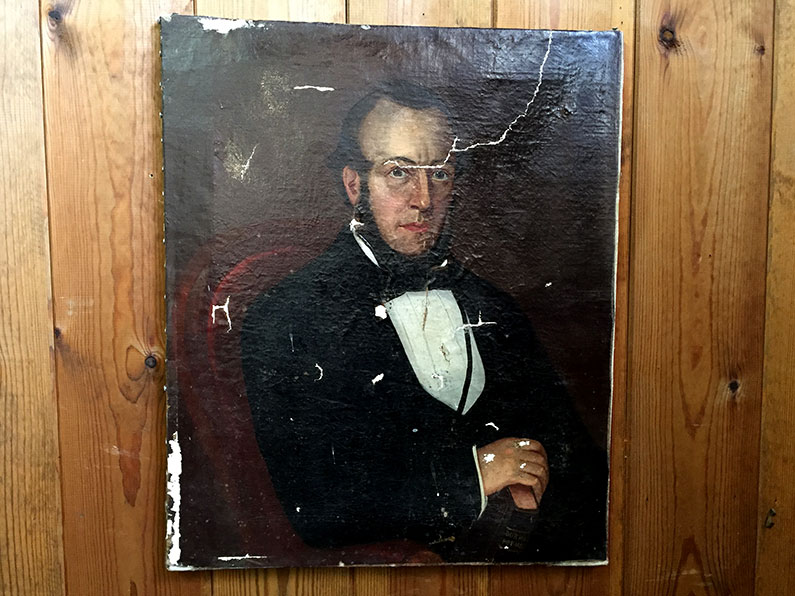 Oil on Canvas Georgian Gentleman
